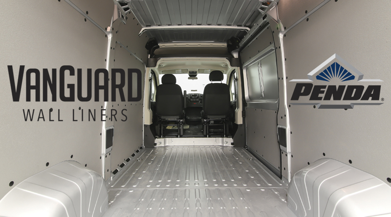 New Vanguard Wall Liner Kits For Ford Transit From Pendaform