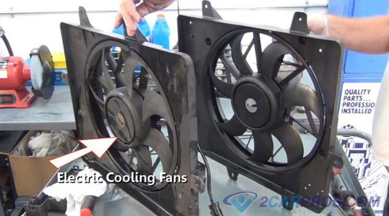 Tech Corner Selecting And Installing An Electric Cooling Fan The Engine Block