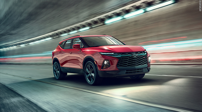 Auto Industry News: All New Chevy Blazer, All-Electric SUV ...