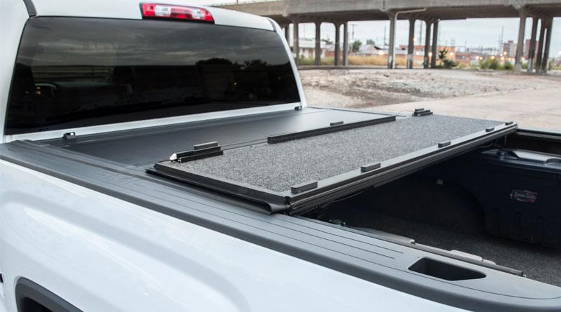 Trailfx Premium Flush Hard Tri Fold Tonneau Cover The