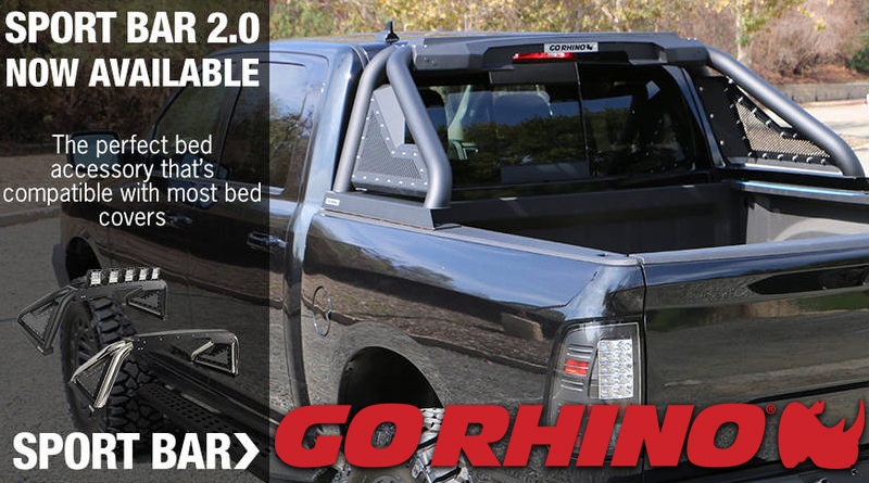 Go Rhino S New Sport Bar 2 0 Amped Up Version Of A Classic