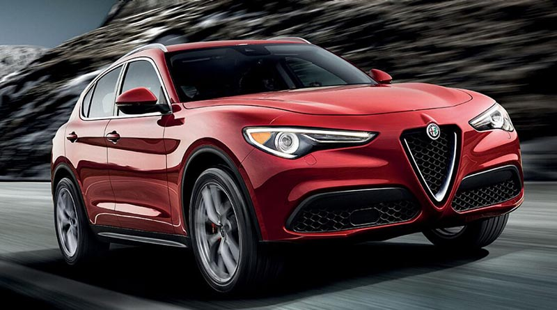 vehicle spotlight 2018 alfa romeo stelvio the engine block. Black Bedroom Furniture Sets. Home Design Ideas