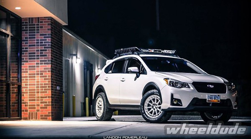 Aggressive Wheel And Tire Packages On A Subaru Crosstrek The Engine Block